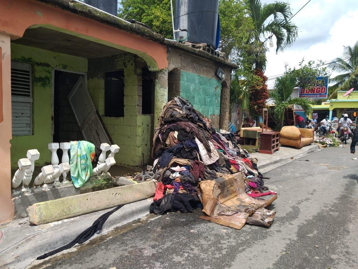 «Lo he perdido todo»: estragos  de Isaías en Villa Ortega, Hato Mayor
