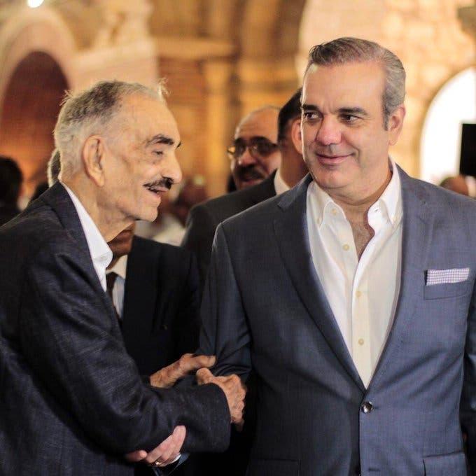 Luis Abinader: Padre, te haré sentir orgulloso con un gobierno honesto y ético