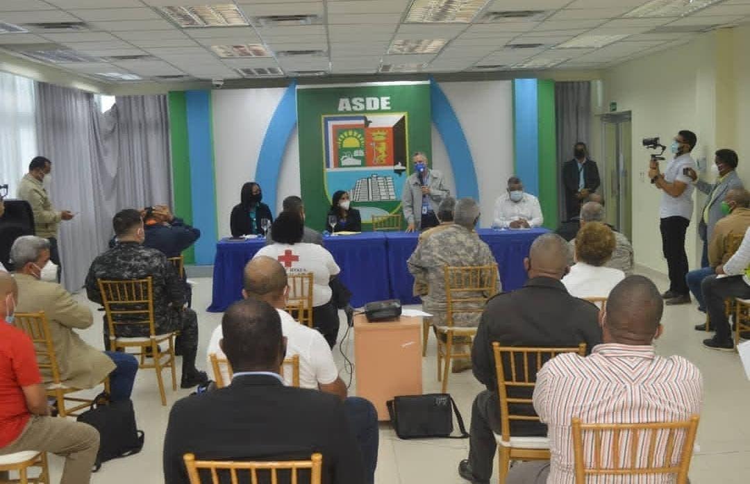 Alcaldía SDE activa Comité Prevención de Desastre ante posible paso huracán