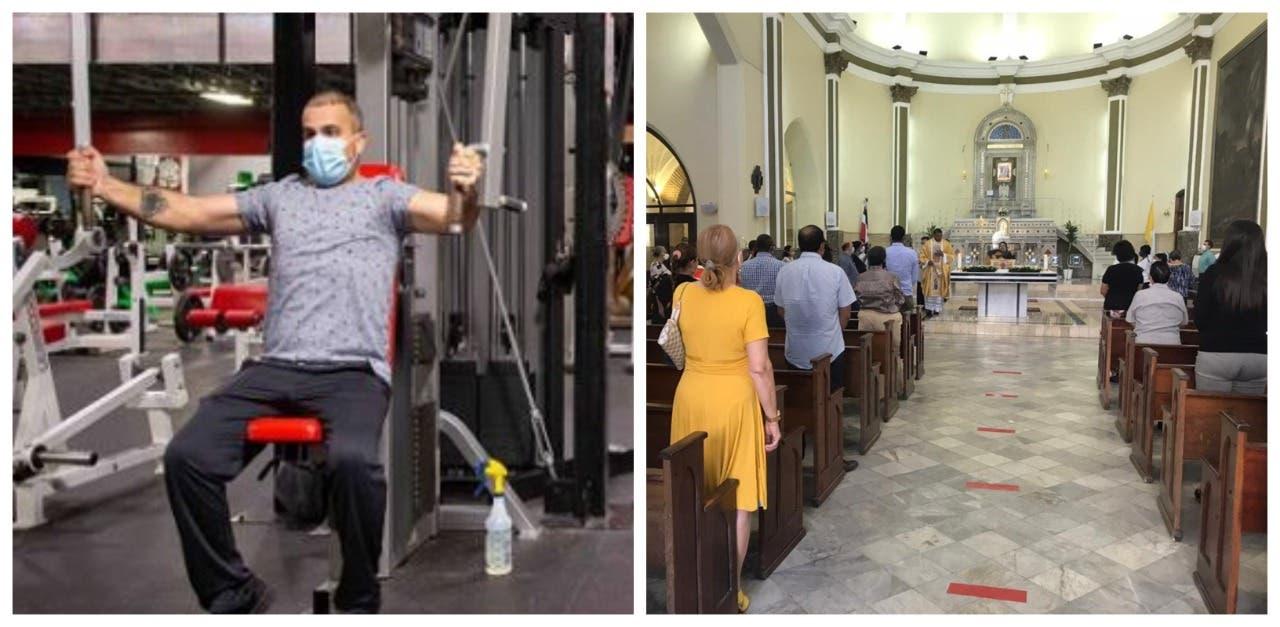 Ministro de Salud explica porqué los gimnasios fueron cerrados y las iglesias no