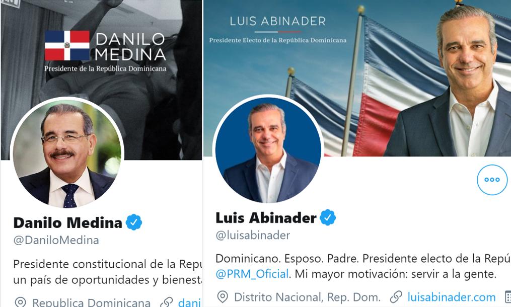 Luis Abinader sería un presidente mucho más tuitero que Danilo Medina