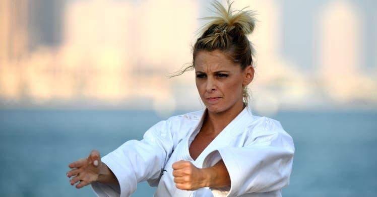 María Dimitrova, la cara visible del karate en la República Dominicana