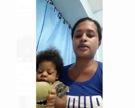 Video: Mujer pide ayuda para trasplante de hígado de su hijo