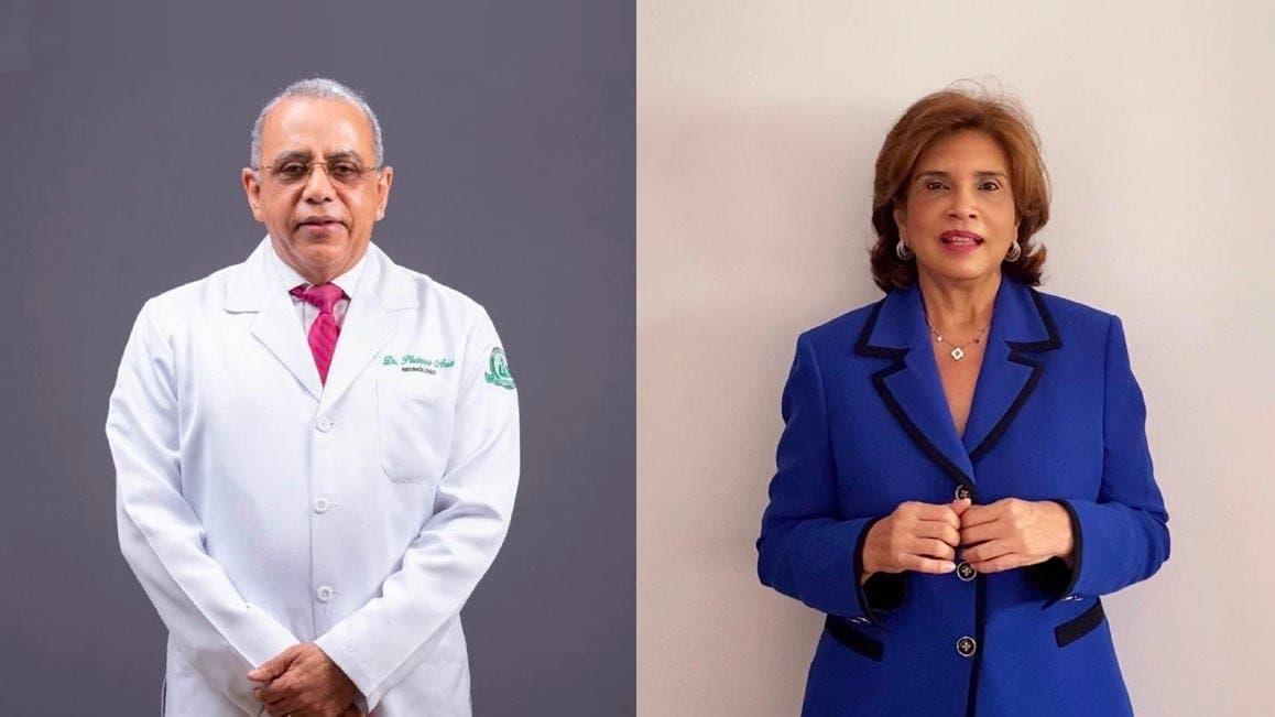 ¿Quiénes son Plutarco Arias e Ivelisse Acosta?, futuros ministro y viceministra de Salud