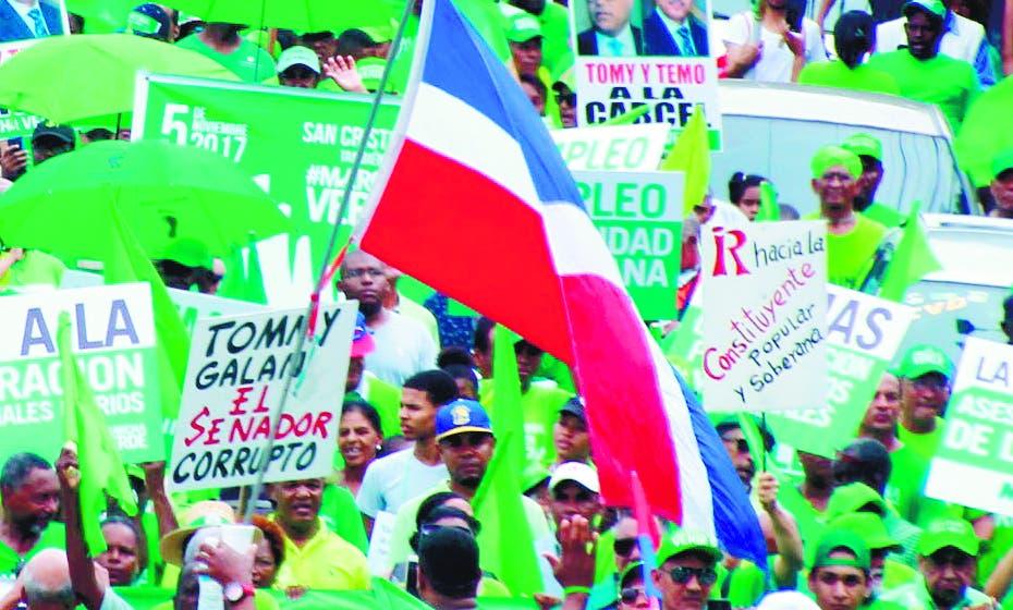 Marcha Verde propone red de seguimiento contra corrupción