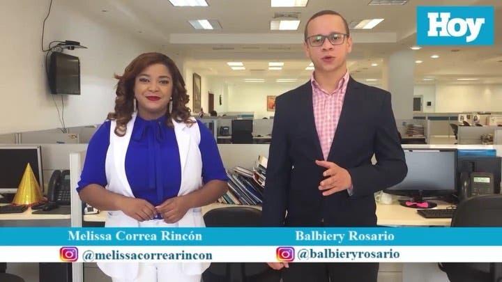 Principales noticias de HOY miércoles 26 agosto presentadas por Melissa Correa y Balbiery Rosario