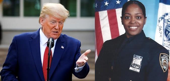 Video: Donald Trump destaca cualidades de policía dominicana asesinada en El Bronx