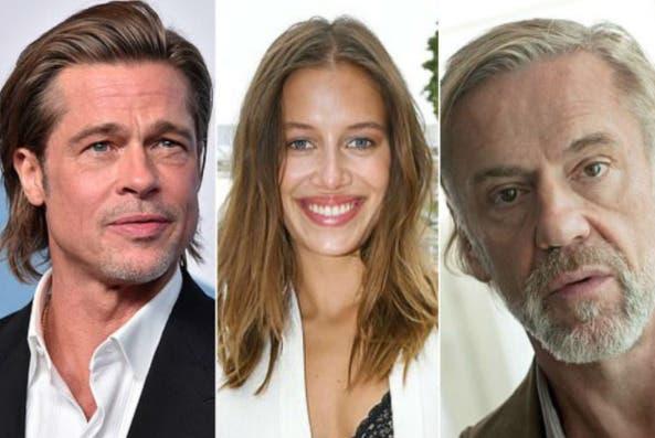 Esposo de Nicole Poturalskin, novia de Brad Pitt, sabe de relación  sentimental