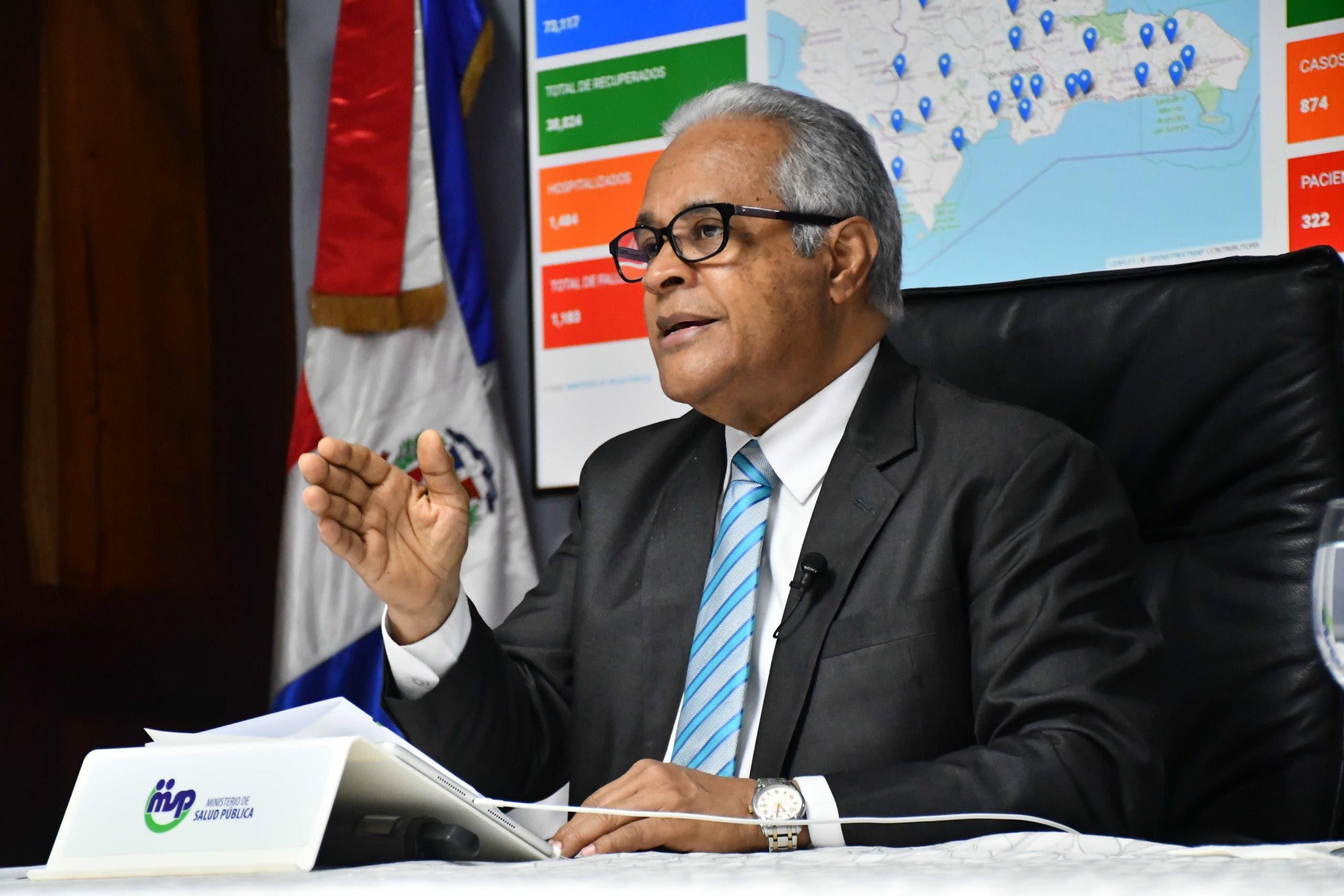 Últimos numeritos de Salud Pública sobre el coronavirus en República Dominicana