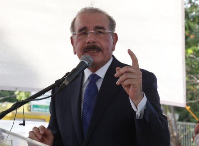 Danilo Medina: He permitido que la gente diga lo que quiera; a nadie se le ha pedido que rectifique