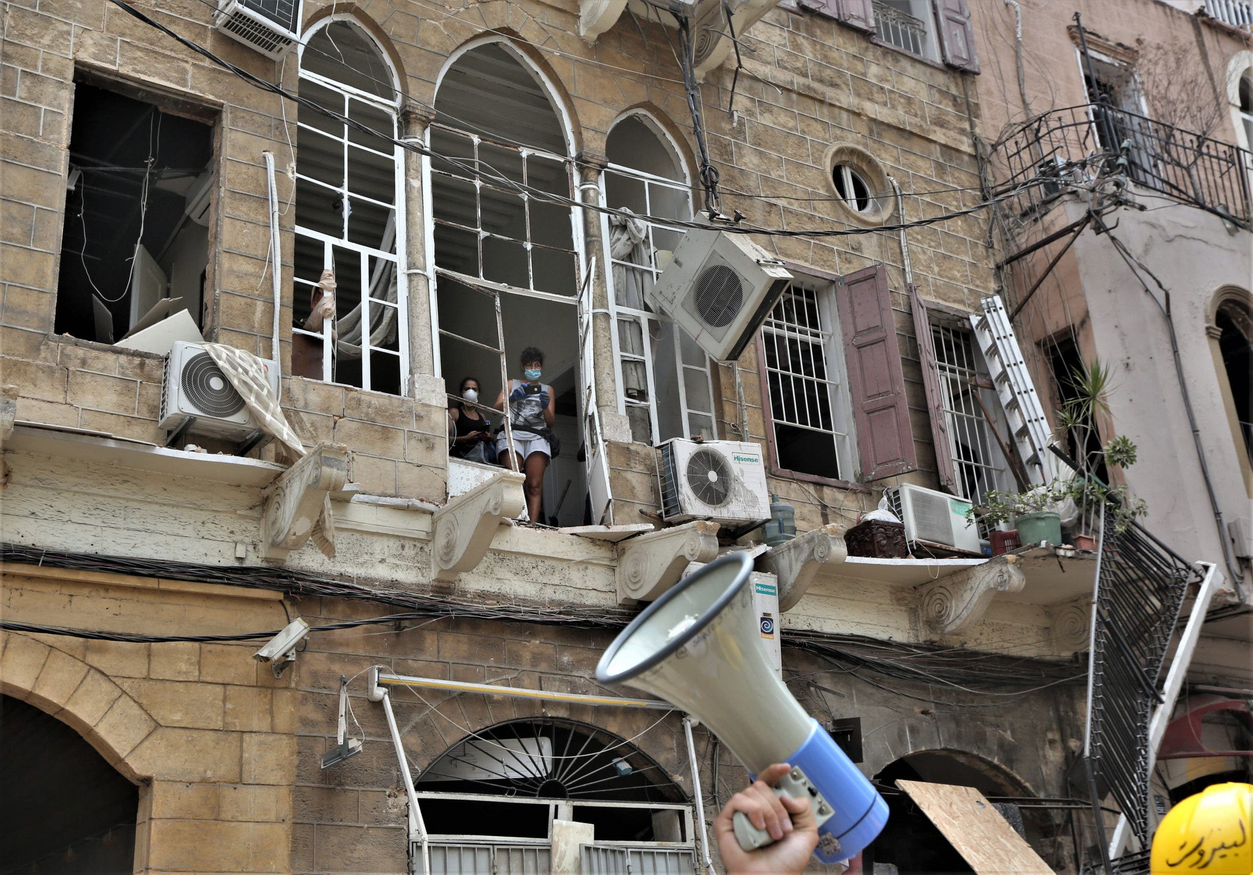 Miedo y terror: Dominicana en el Líbano cuenta lo que vivió durante explosión