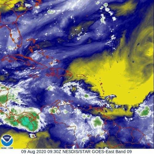 Polvo del Sahara continuará limitando lluvias en RD