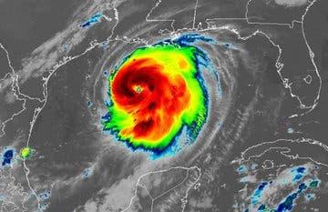 Huracán Laura ya tiene categoria 3 y aumentará a 4 antes de tocar tierra