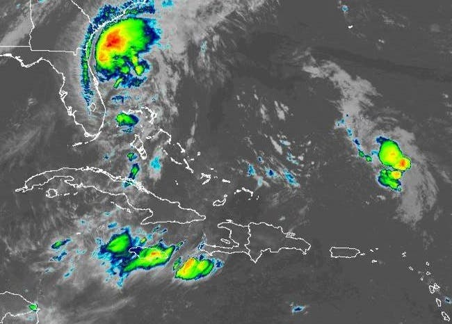 ONAMET prevé escasas precipitaciones para hoy y vigila posible formación de ciclón
