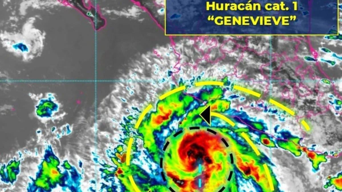 El huracán Genevieve se fortalece a categoría 4