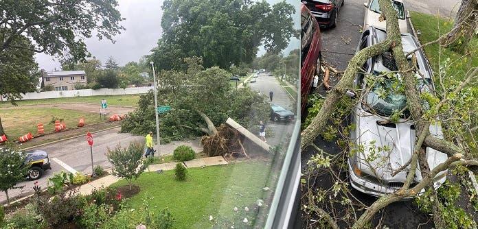 Huracán Isaías provoca en Nueva York un muerto, apagones y daños a propiedades