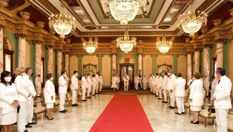En imágenes: juramentación de nuevos funcionarios del gobierno Luis Abinader