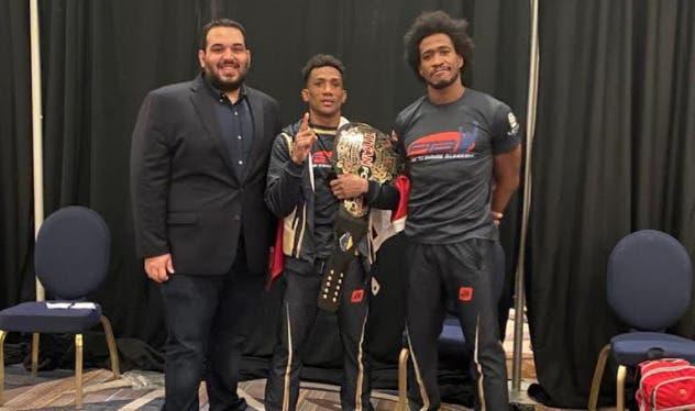 Wascar «La Avispa» Cruz, primero de RD en ganar título mundial en MMA