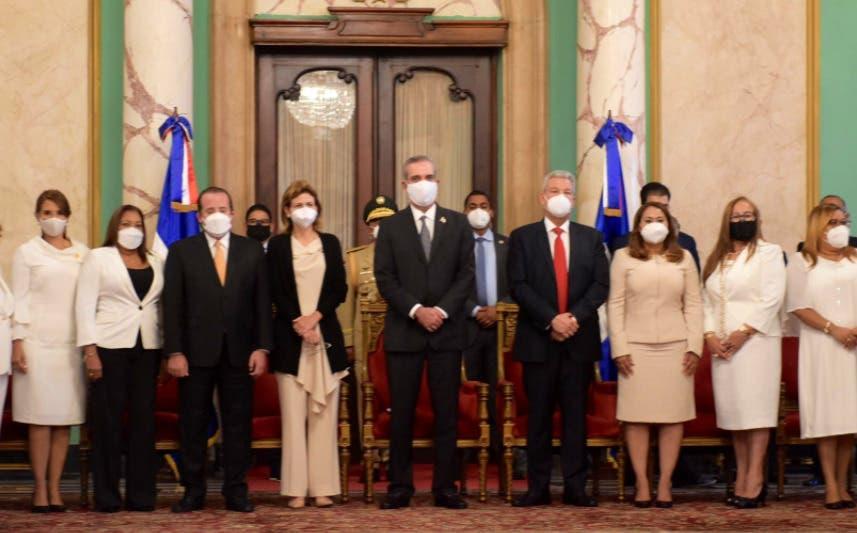 Así transcurrió la juramentación de las 31 gobernadoras designadas por Luis Abinader