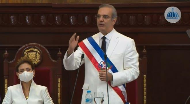 Luis Abinader: Recuperación económica del país «no llegará ni rápida ni fácilmente»