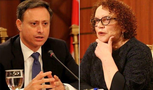 El choque entre Miriam Germán y Jean Alain Rodríguez