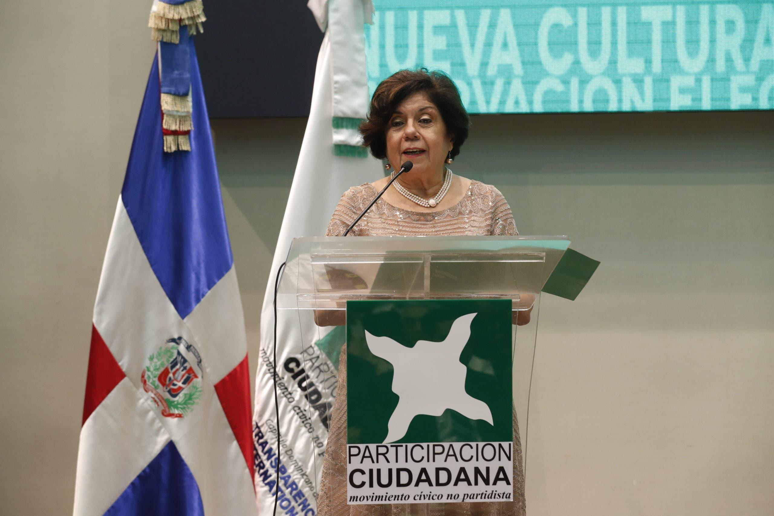 Participación Ciudadana designa a Mirian Díaz Santana como directora ejecutiva