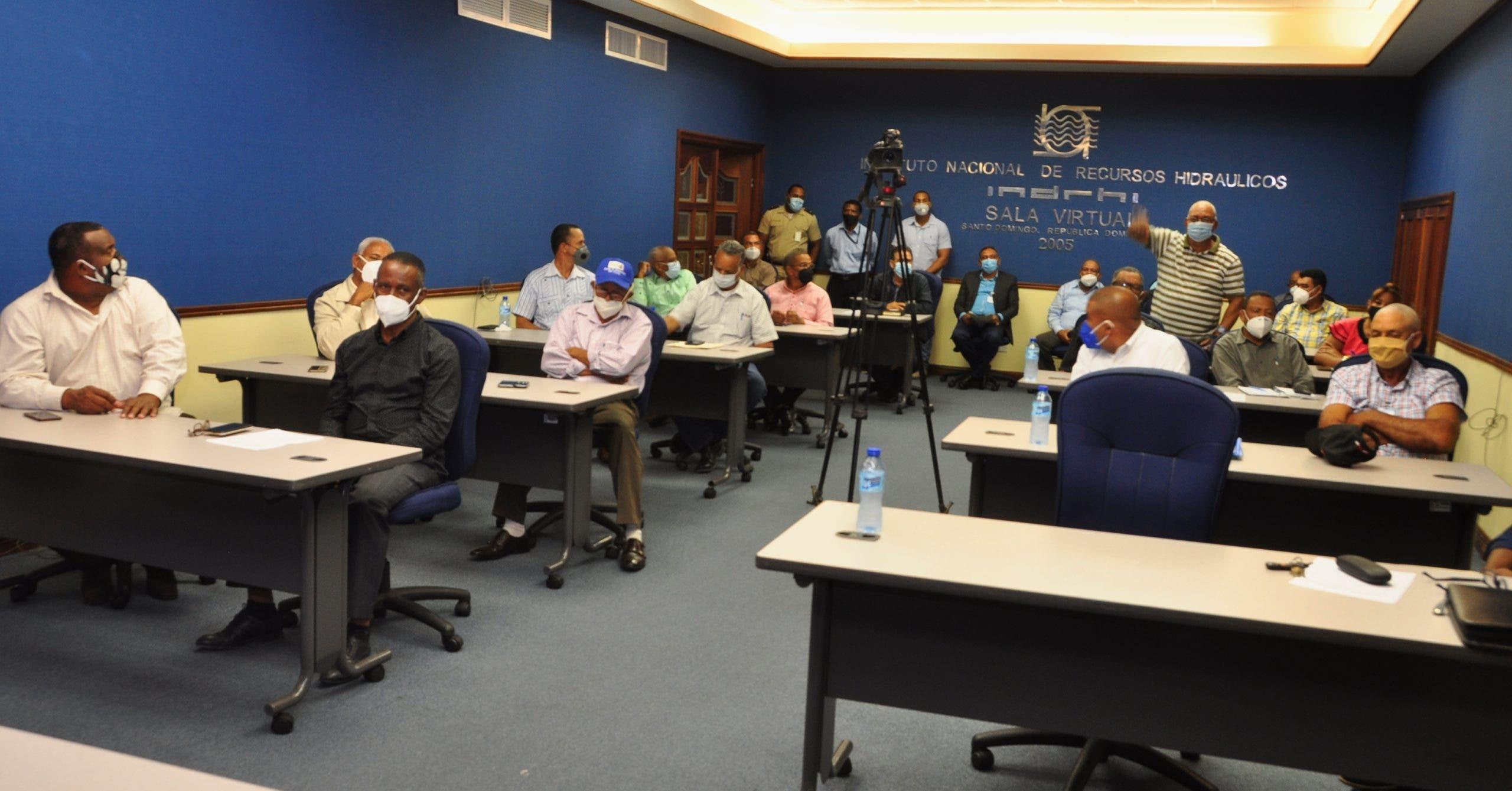 Director INDRHI resalta el papel de las juntas de regantes en la producción de alimentos