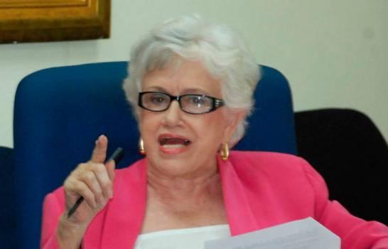 Ortiz Bosch: Si funcionarios cumplieran leyes, no tuvieran familiares presos
