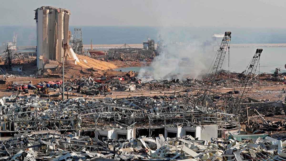 Explosión de Beirut: Al menos 60 personas continúan desaparecidas