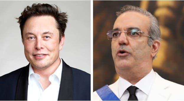 Intercambio de mensajes entre el presidente Luis Abinader y el director de Tesla Motors