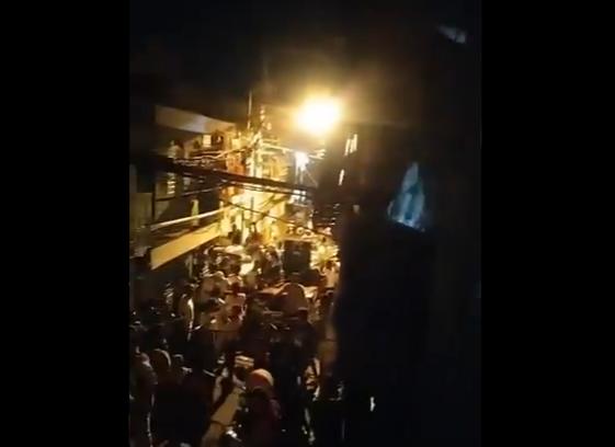 Video: Así festejan decenas de personas en Cristo Rey durante toque de queda