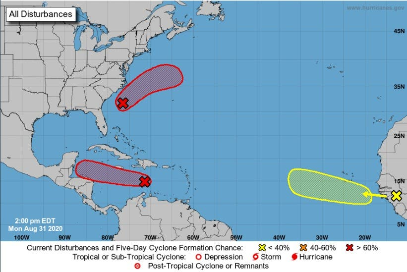 Informan sobre depresión tropical no.15
