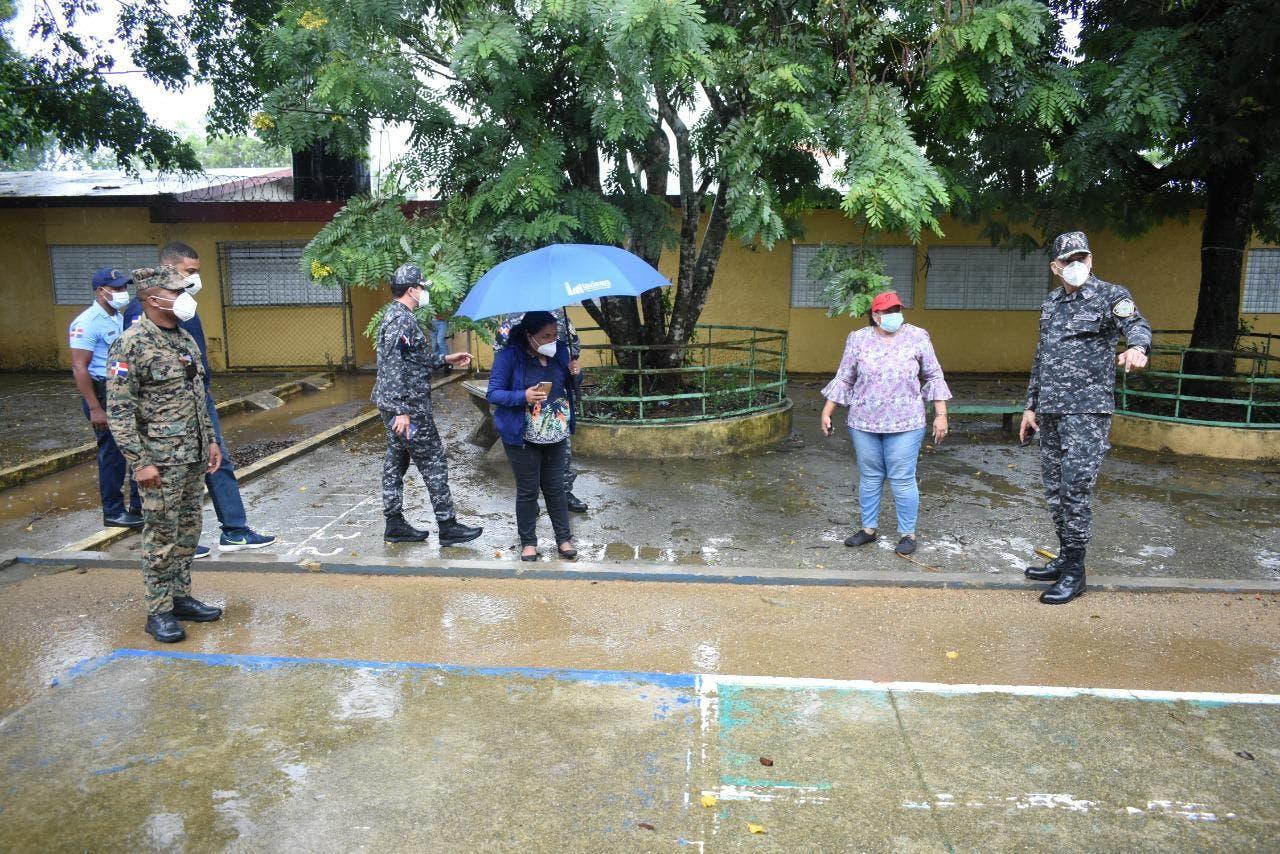 Reporte preliminar de daños causados por Isaías a centros educativos de RD