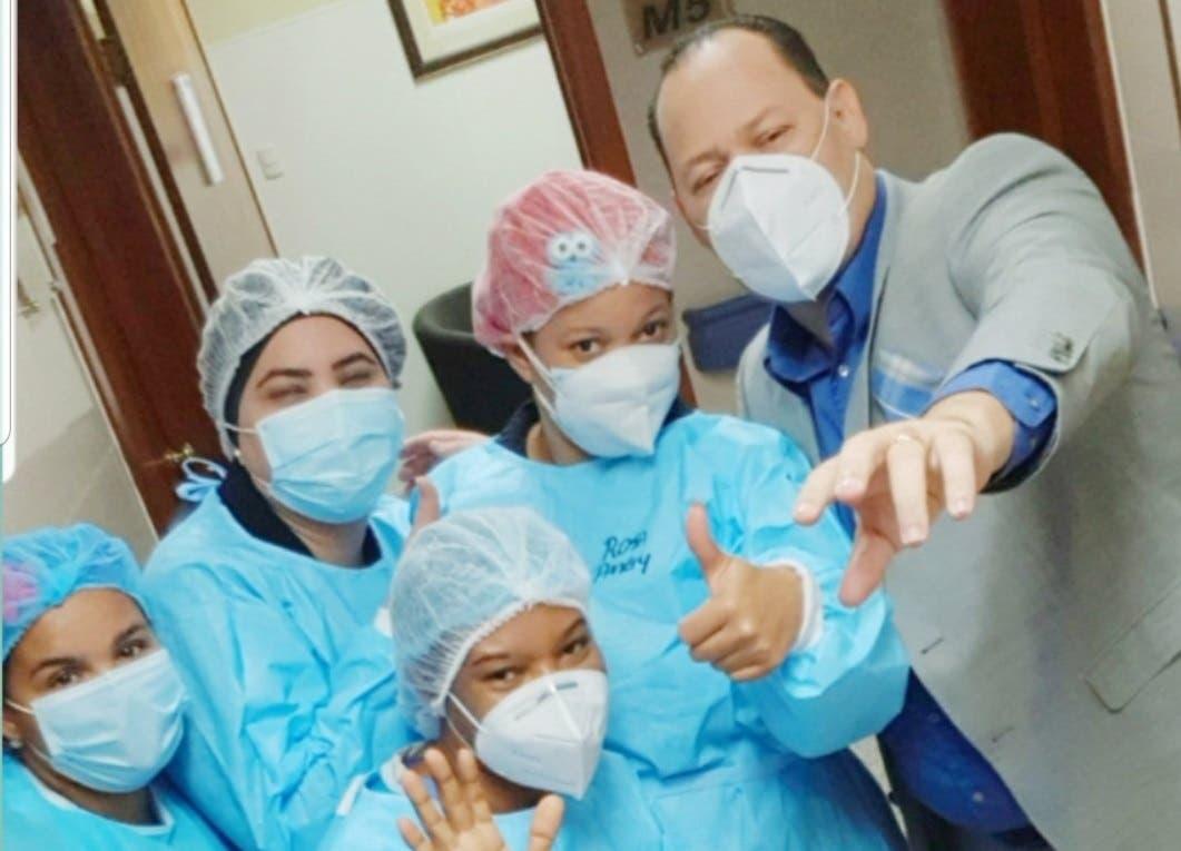 Franklin Mirabal dado de alta tras 14 días interno por COVID-19