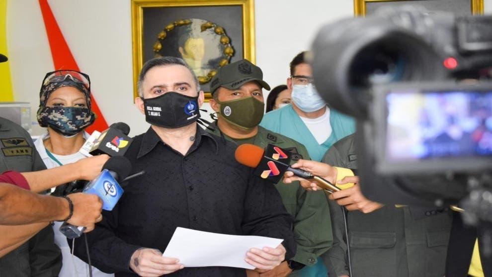EEUU y Colombia buscan «aumentar ataques» a Venezuela, según fiscal general
