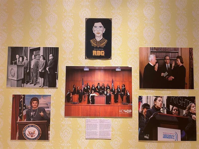 Una exposición en Miami muestra el cambio de rol y de espacio de la mujer