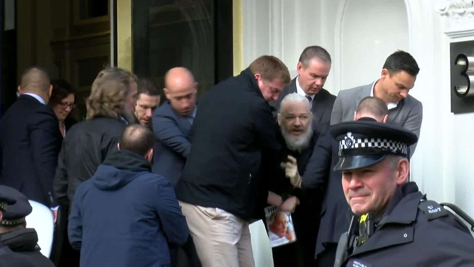 Testigo implica a EEUU en la expulsión de Assange de la embajada de Ecuador
