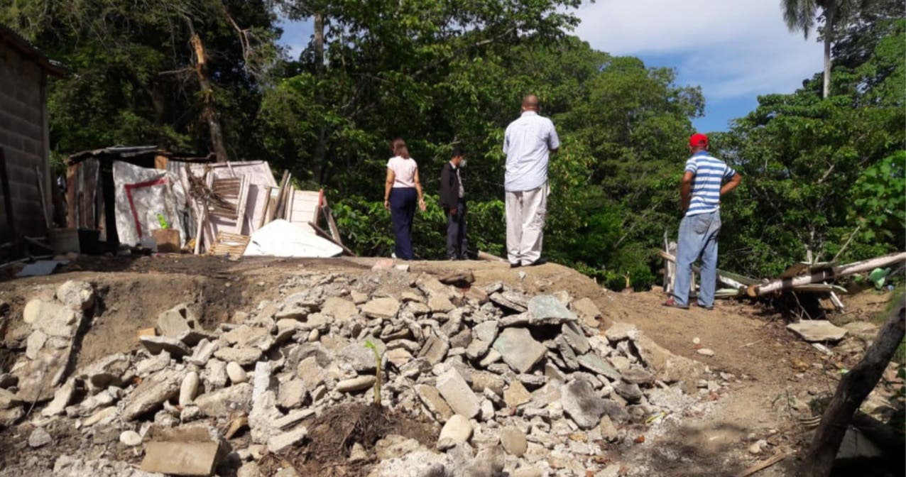 Gobierno construirá vivienda a una familia en comunidad de Muñoz en Puerto Plata