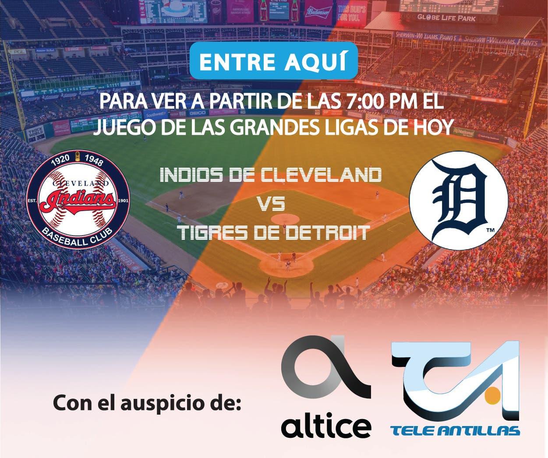 EN VIVO: Indios de Cleveland  vs Tigres de Detroit