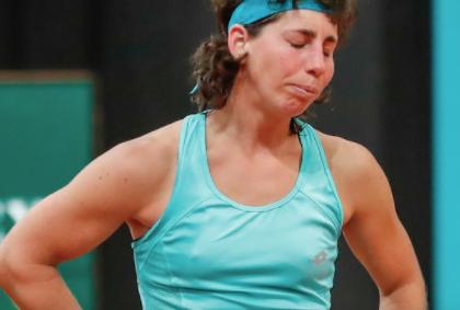 Así anunció la tenista española Carla Suárez que padece de cáncer