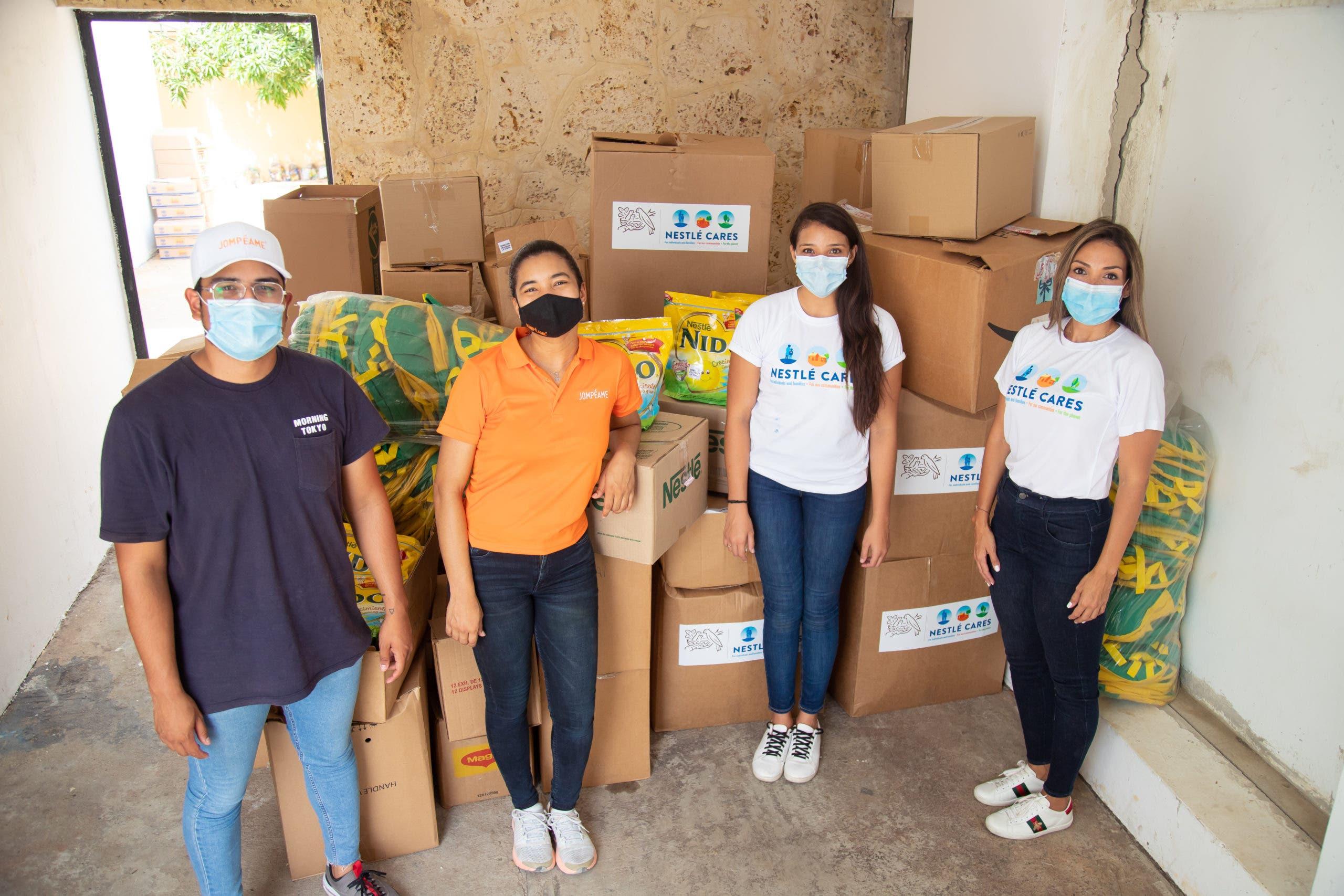 Nestlé Dominicana apoya a comunidades afectadas por la tormenta Laura