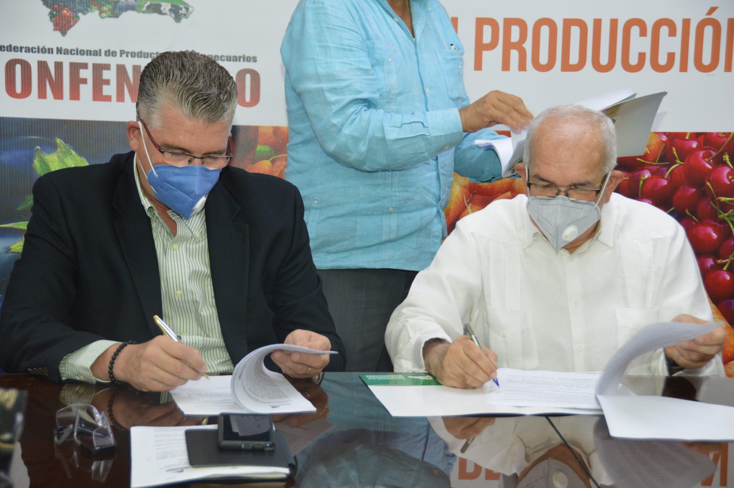 Administrador del Banco Agrícola anuncia la tecnificación del sector Agropecurio
