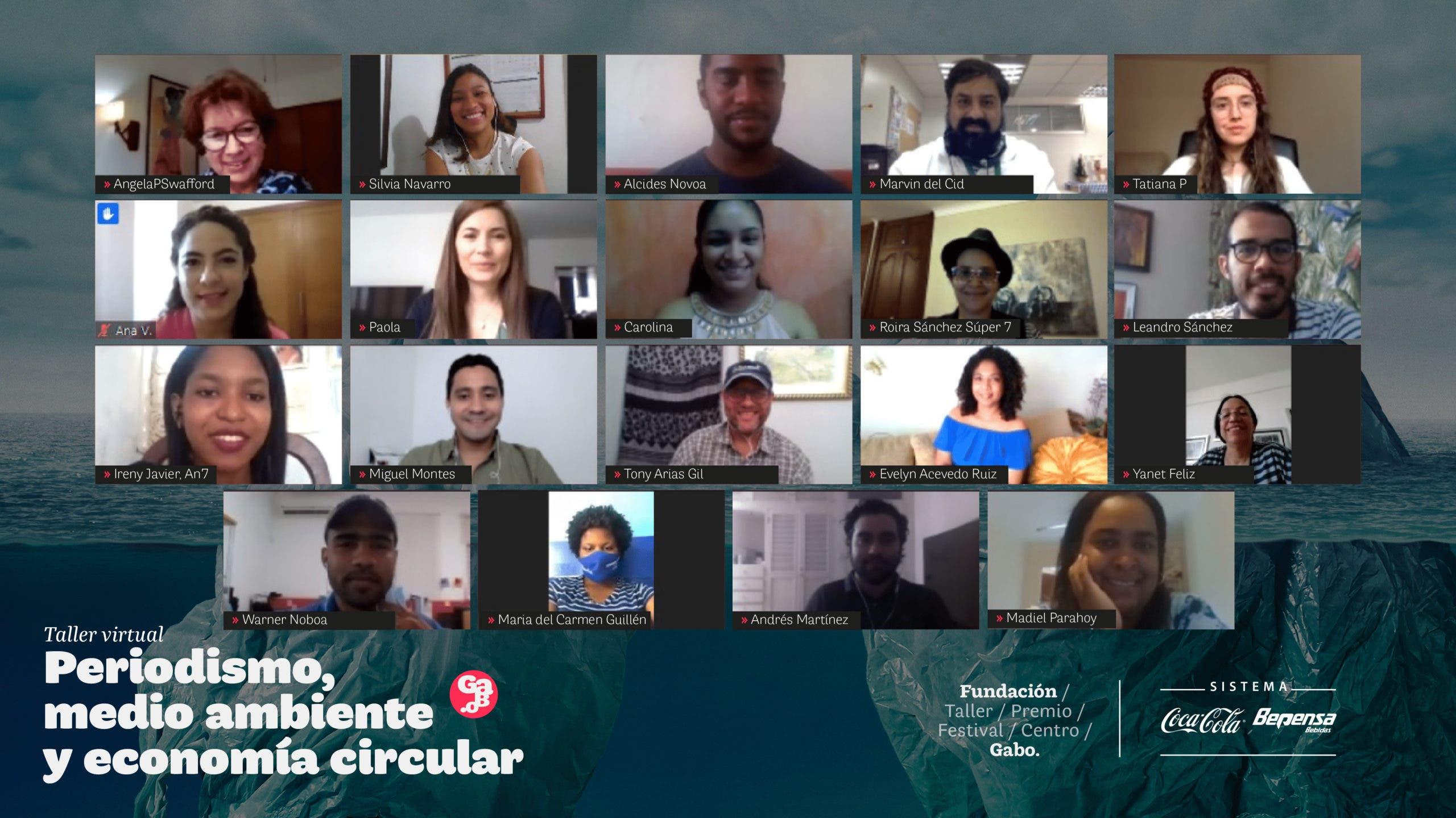 """Realizan taller virtual """"Periodismo, Medio Ambiente y Economía Circular"""""""
