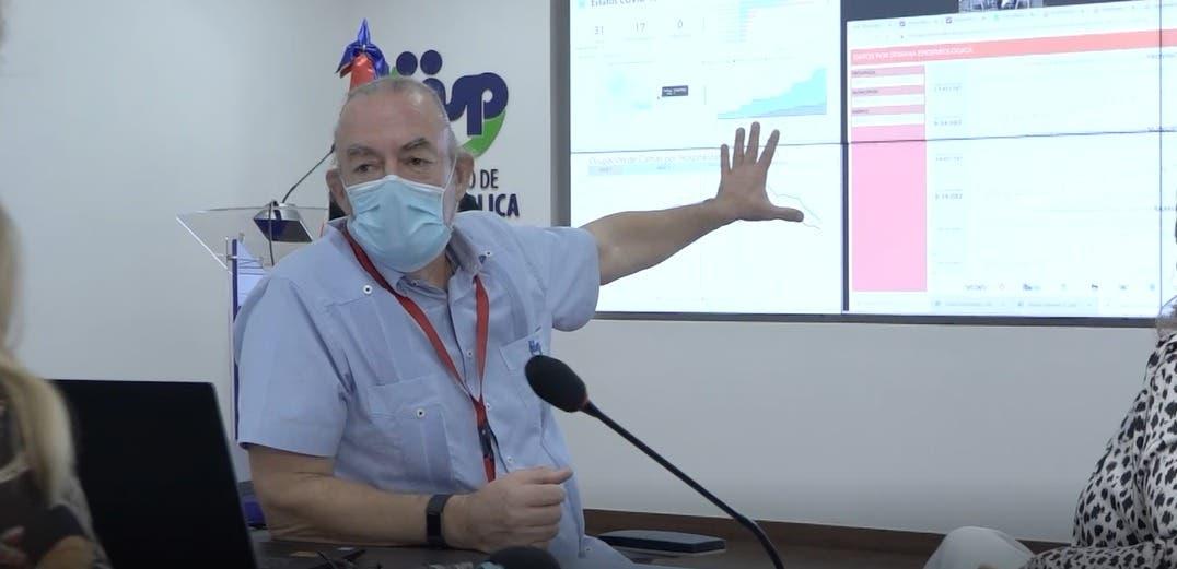Director de Epidemiología explica porqué las muertes por Covid-19 no son notificadas diariamente