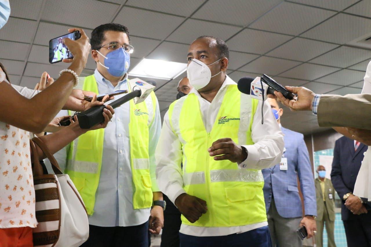 Confirman cumplimento de protocolo sanitario en el AILA para reactivación turismo