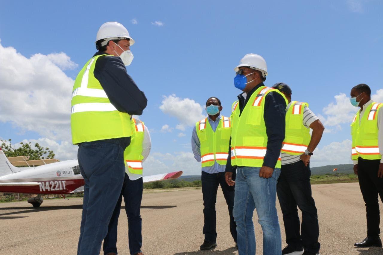Departamento Aeroportuario remozará aeródromo de Pedernales para elevarlo de categoría