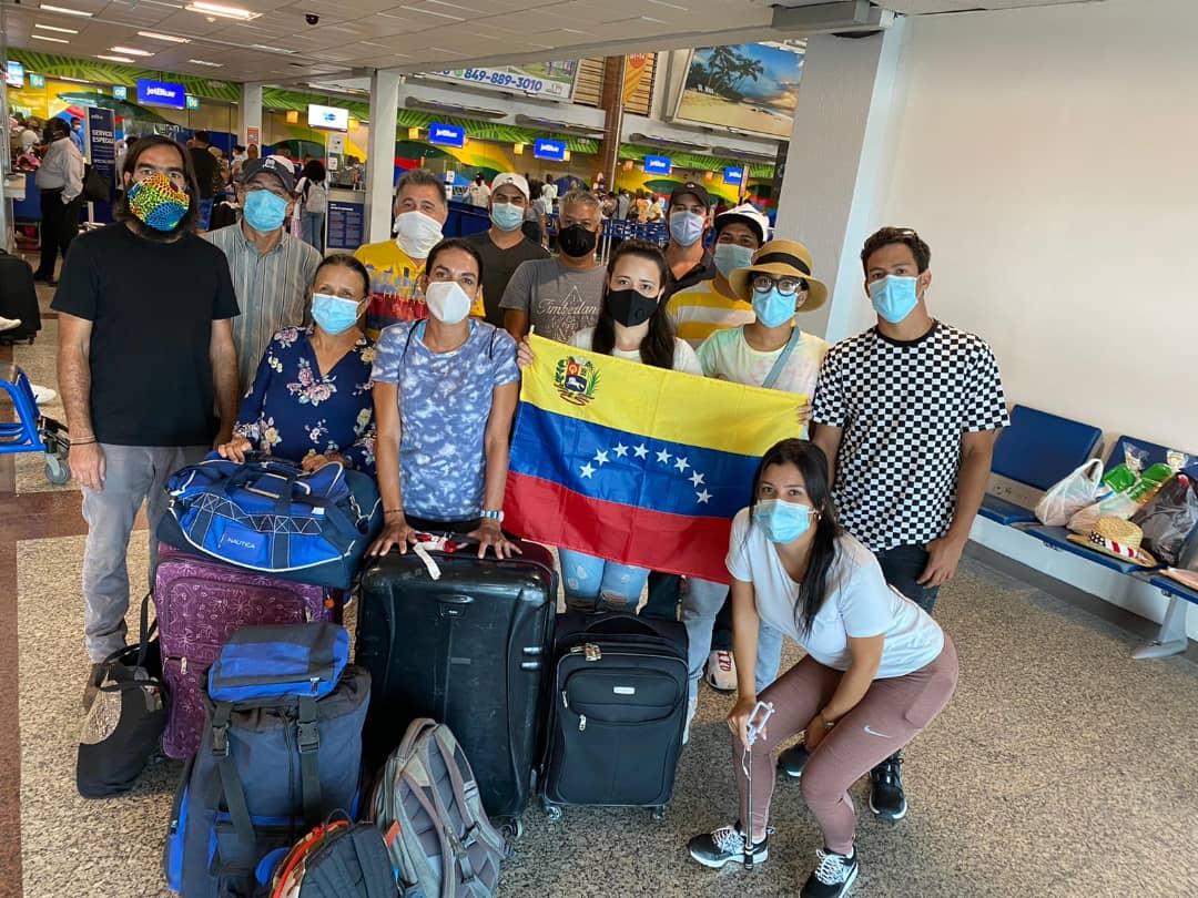 Más de 200 venezolanos fueron repatriados en vuelos humanitarios