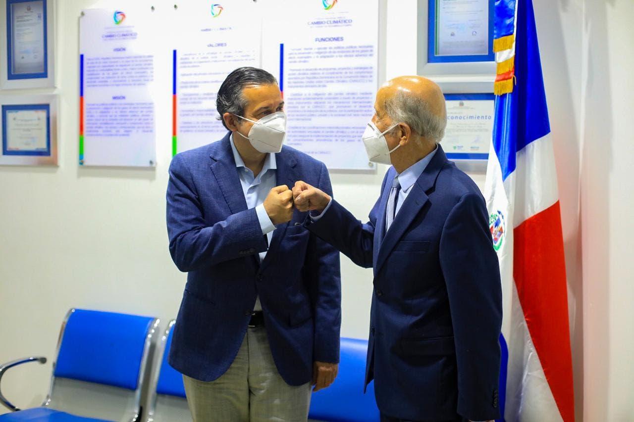 Jorge Mera y Max Puig acuerdan trabajar en conjunto tema de cambio climático