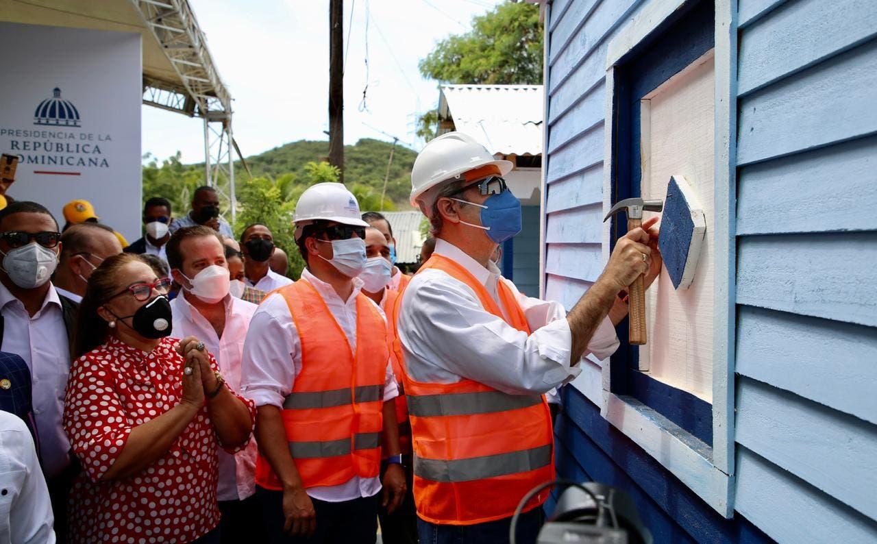 """Gobierno presentan plan """"Dominicana se Reconstruye"""" con inversión de RD$1,900 millones"""