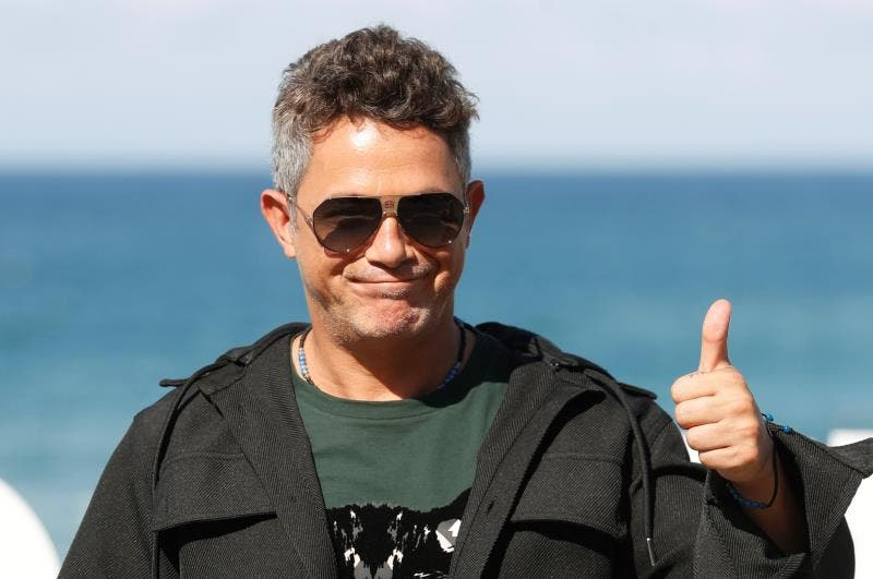 Alejandro Sanz lanza el guante al cine: «¿Por qué no hacer una película?